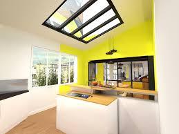 corniche pour cuisine verrière puit de lumière amovible ambiance atelier corniche