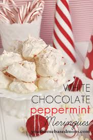white chocolate peppermint meringues recipe white chocolate