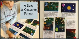 7 days of creation project lego style layered soul homeschool