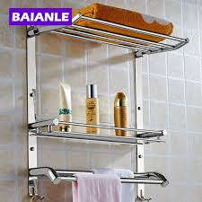 Bathroom Towel Storage Baskets by Online Get Cheap 2 Tier Bathroom Shelf Aliexpress Com Alibaba Group