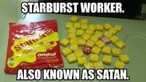 Starburst Meme - but the pink starburst are the best memebase funny memes