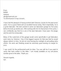 College Letter Of Recommendation From A Family Friend personal letter of recommendation visitlecce info
