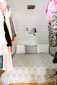 Bed In Closet Tiny Apartments Small Home Living Tricks