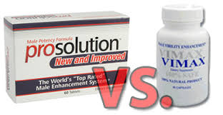 prosolution pills vs vimax pills comparison