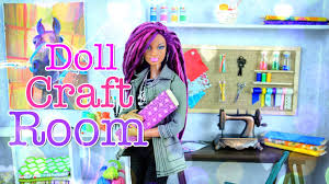 diy how to make doll room in a box craft room handmade