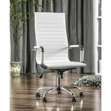 Fuzzy White Chair White Fuzzy Desk Chair Wayfair