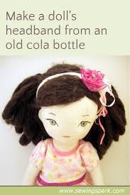 s headband tutorial make a doll headband sewing spark