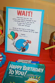 dr seuss book for guests to write a special note in i think i u0027d