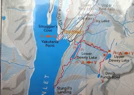 Skagway Alaska Map by Dina U0027s Travels Skagway June 28th Historical Walking Tour In