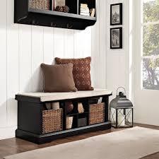 Storage Home Amazon Com Crosley Furniture Brennan Entryway Storage Bench With