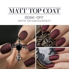 perfect summer uv gel nail polish matt matte top coat long lasting