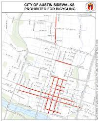 Traffic Map Austin by The Rules Of The Road For Bike Riders In Austin U2014 Austin Bike