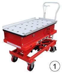 roller ball table top mobile scissor lift table liftmate co uk