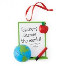 teacher christmas ornament cool stuff to buy and collect