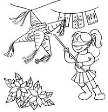 Las Posadas Coloring Pages las posadas coloring page holidays and december