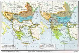 Balkan States Map by The Balkans 1815 1915