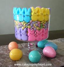 peeps decorations easter decorations with peeps cake pop my heart