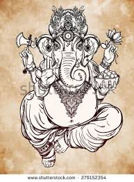 royalty free hindu elephant head god lord ganesha u2026 279152348
