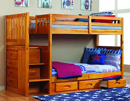 twin over full bunk bed with trundle u2014 modern storage twin bed design