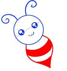 draw draw bee kids hellokids