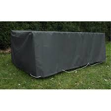 housse de protection pour canapé de jardin jardins d hiver housse table rectangulaire 230 x 110 cm