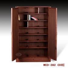 Dvd Storage by Solid Wood Cd Dvd Storage Cabinet 69 With Solid Wood Cd Dvd