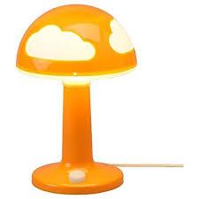 Ikea Childrens Bedroom Lights Ikea Skojig Children S Orange Polypropylene Table L Bundle With