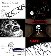 Meme Scary Face - funny rage comics dump a day