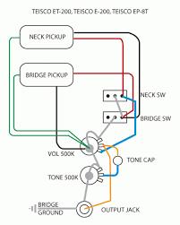 wiring teisco rebuild