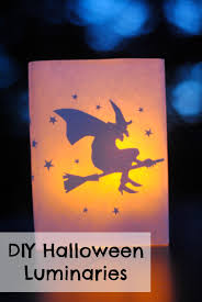 Diy Halloween Ornaments Diy Halloween Decor Glowing Luminaries Making Lemonade