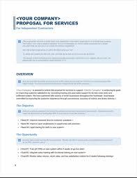 design proposal letter exle services proposal business blue design office templates