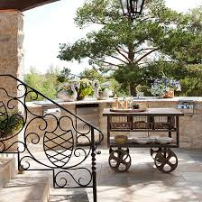 outdoor kitchen carts and islands outdoor carts and islands rolling kitchen carts home