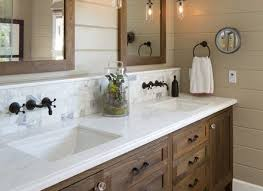 46 bathroom vanity mediterranean with black trim cabinets