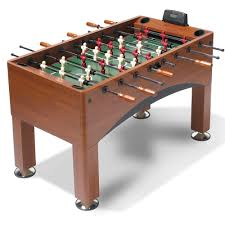 amazon com foosball table the handicapping foosball table hammacher schlemmer