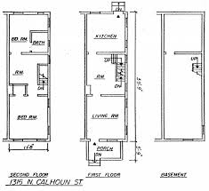 row house floor plan uncategorized row house floor plans within lovely dc row house
