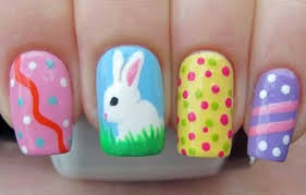 Easter Nail Designs 14 Decorated Easter Egg Nail Designs