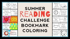 color as you go summer reading challenge bookmark weareteachers