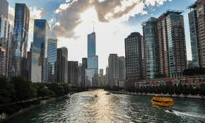 chicago has one of the most beautiful skylines in the us this is