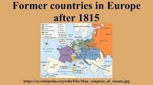 Constantinople Europe Map Free Here by Former Countries In Europe After 1815 Youtube