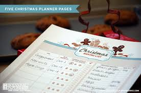 printable holiday shopping planner pages it u0027s always autumn