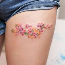 Thigh Tattoos - 189 sexiest thigh tattoos for 2017 collection