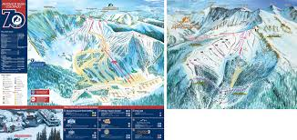 Vail Colorado Map by Arapahoe Basin Ski Area Trail Map