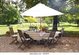 French Country Outdoor Furniture by Wooden Garden Table Set Stock Photos U0026 Wooden Garden Table Set