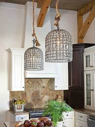 Pendant Lighting For Kitchen Awesome Crystal Pendant Lights For Kitchen Island 3 Led Lamps