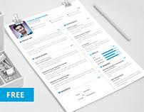 Free Creative Resume Templates Download Most Appreciated Projects On Behance