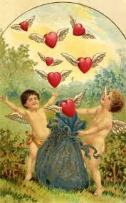 vintage thanksgiving postcards vintage victorian valentine u0027s day cherubs hearts heart sticker