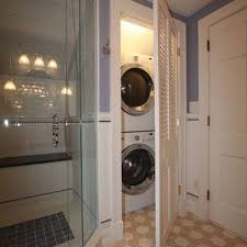 laundry room in bathroom ideas bathroom with washer and dryer flatblack co