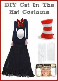 cat in the hat costume diy women s cat in the hat costume jinxy beauty