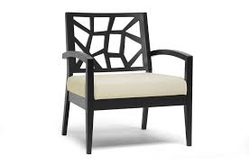 Ivory Accent Chair Baxton Studio Brown And Modern Lounge Chair