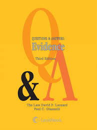 questions u0026 answers evidence lexisnexis store
